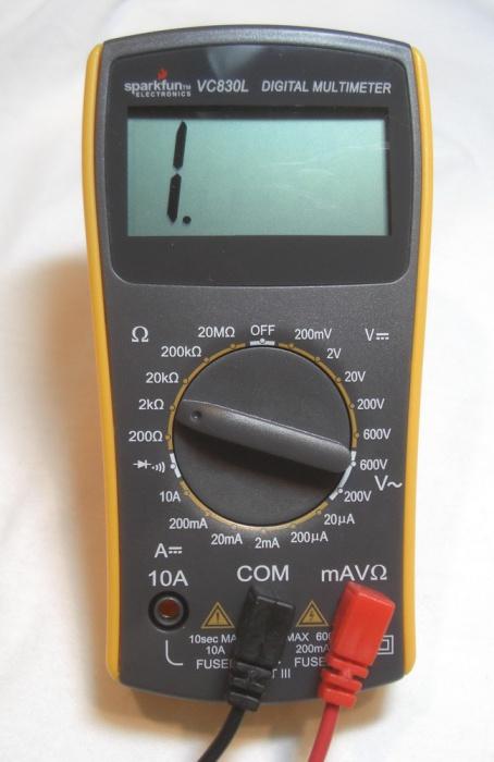 Semaine2 introduction l 39 lectronique edm4640 t o f for Savoir se servir d un multimetre